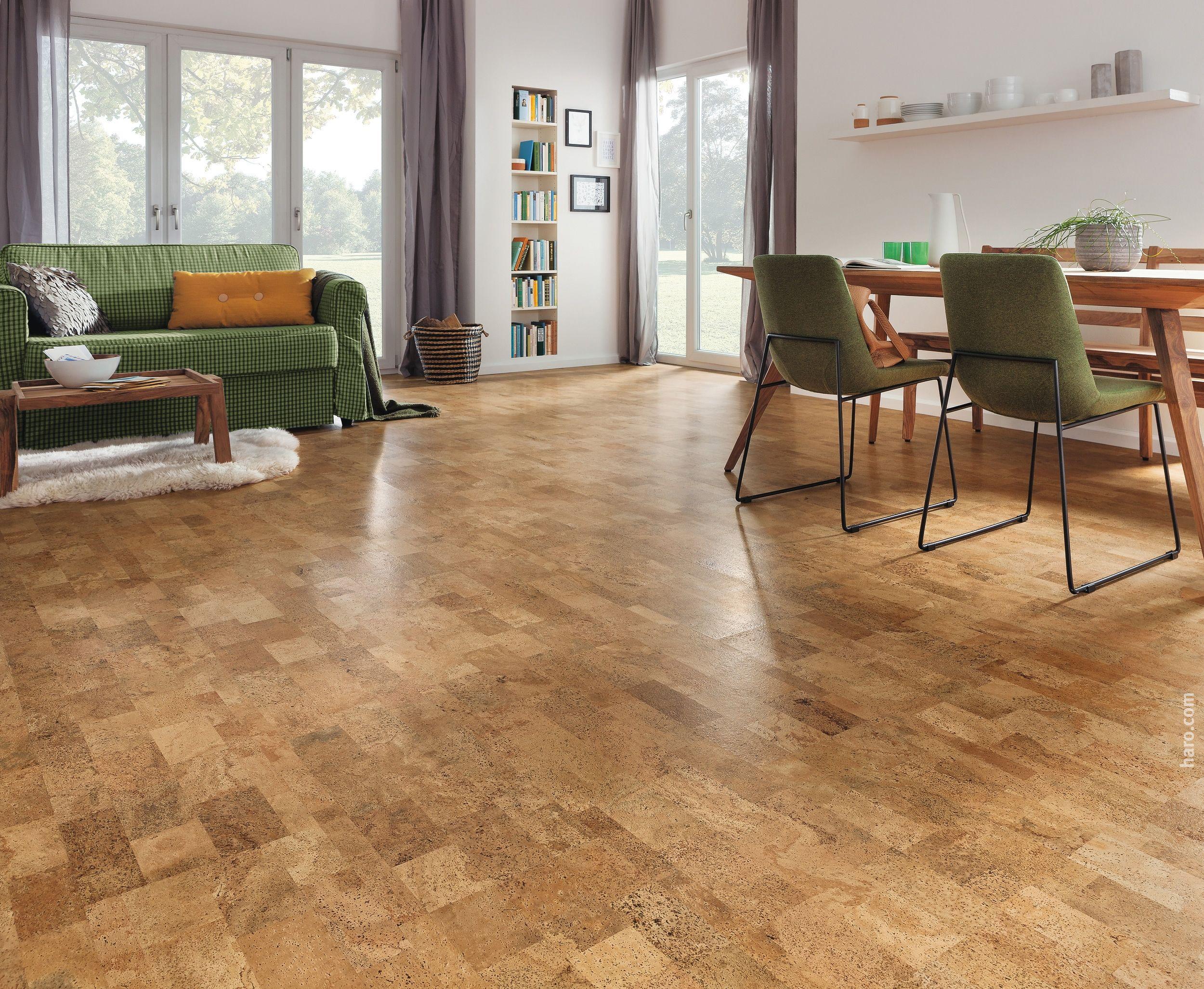 HARO Korkboden CORKETT Ronda natur | Cork Floor / Korkboden ...
