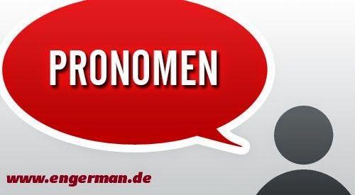 German Grammar - Pronomen   L E A R N G E R M A N