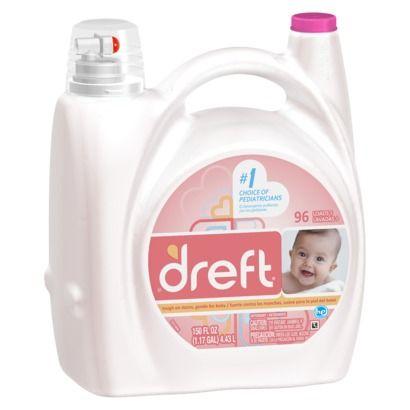 Dreft Stage 1 Newborn Hec Liquid Detergent 150oz Baby Laundry