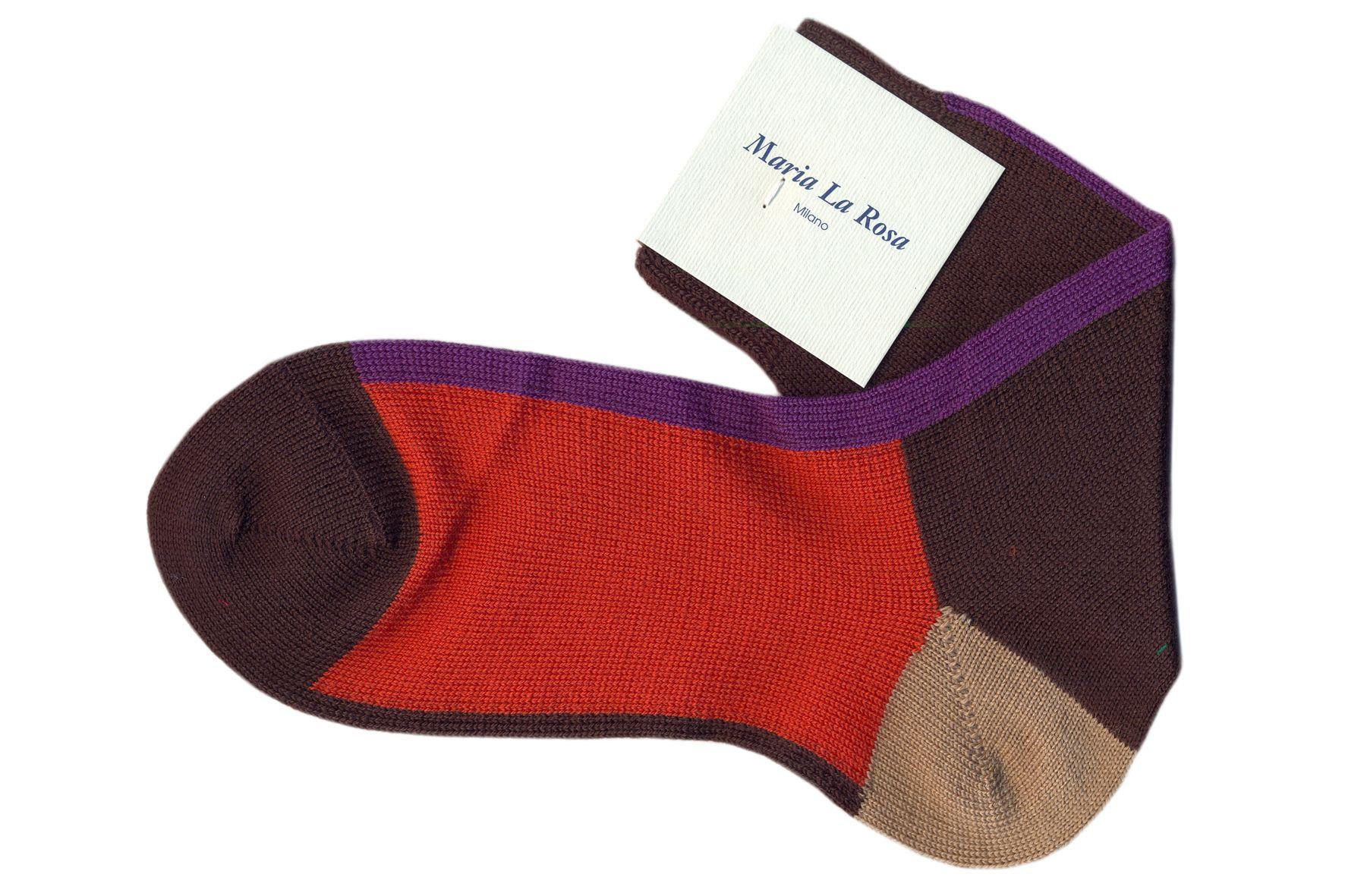 Ankle socks 90% wool 10% poly