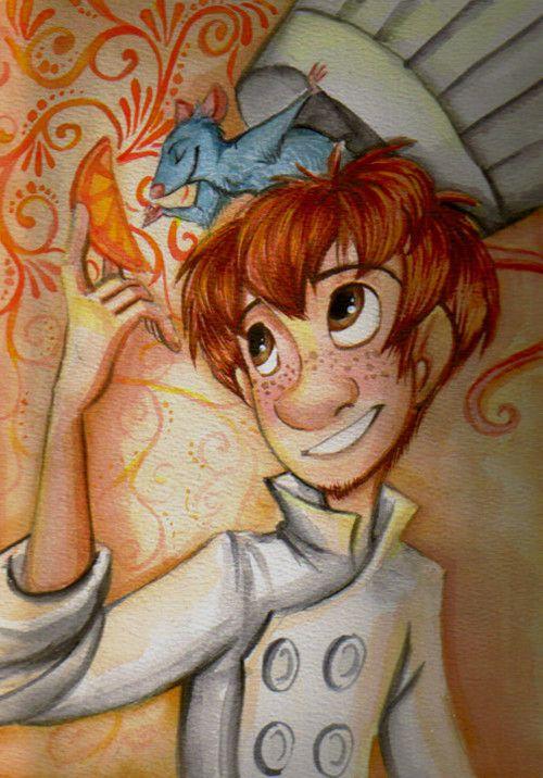 Remy Linguini Ratatouille 2007 Disney Paintings Ratatouille Disney Disney Drawings