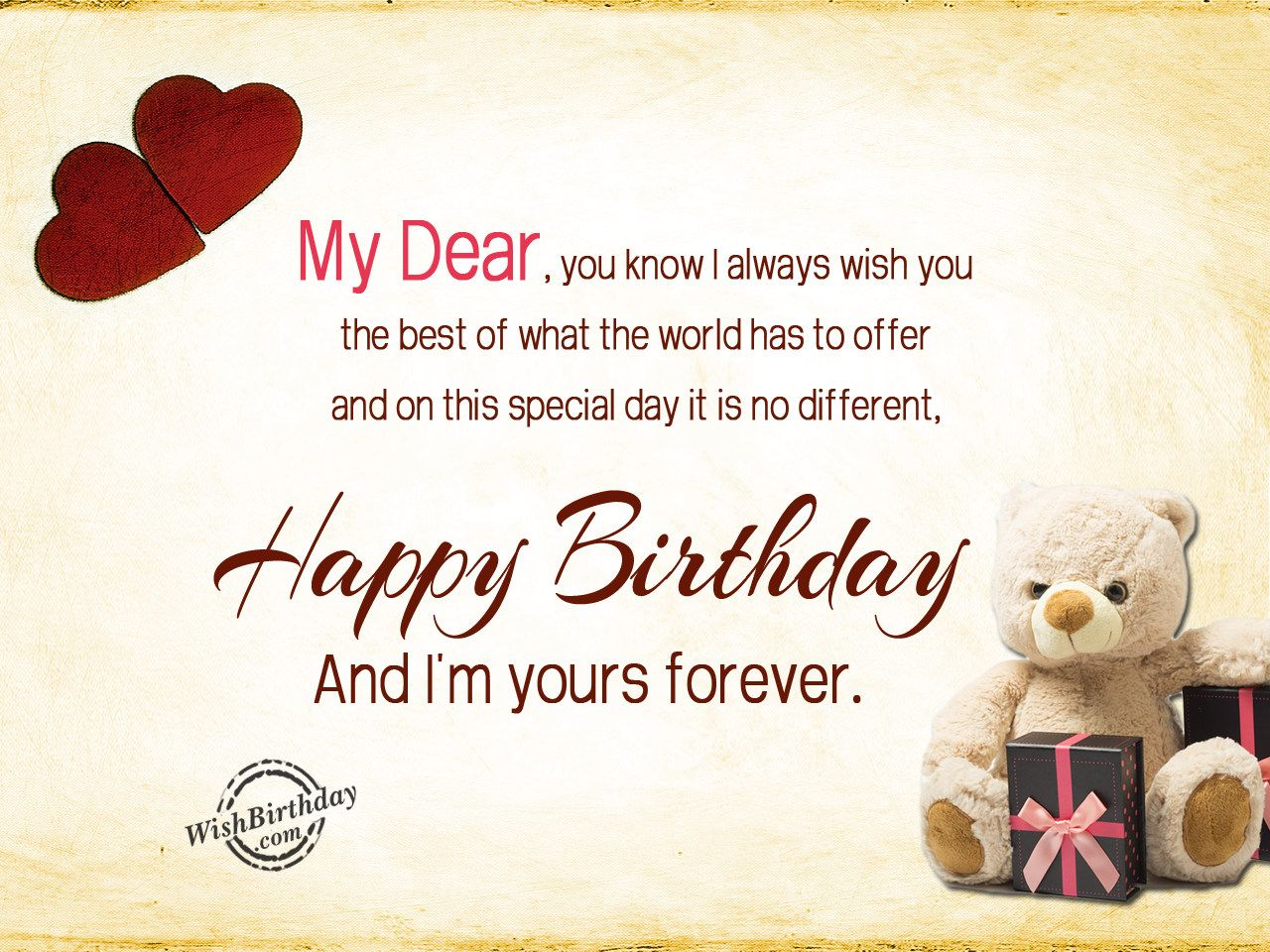 Happy birthday and i m yours forever wb0160288 bday pinterest happy birthday wishes for friends must read part com friend wishing you very dear best free home design idea inspiration kristyandbryce Image collections