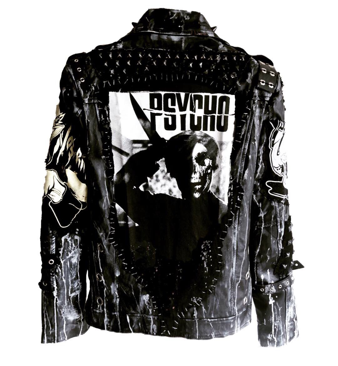 Jacket stab by chad cherry etsy jackets clothes