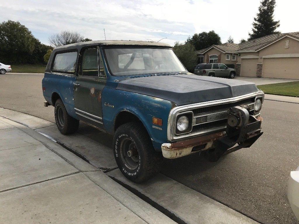 1984 Chevrolet K5 Blazer Arizona Truck Coches Y Motocicletas