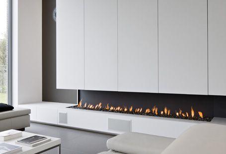 Sfeerhaarden op propaangas 壁炉 fireplace design modern