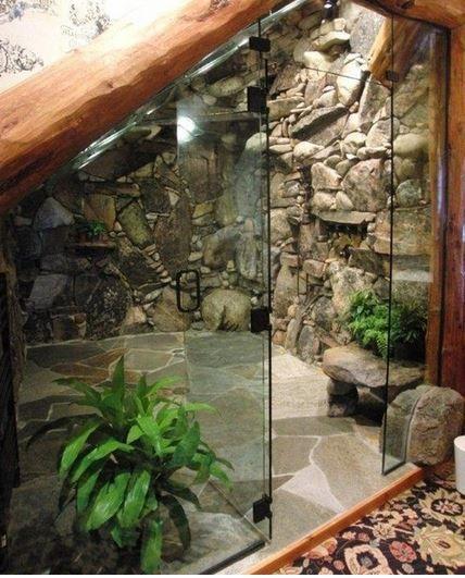 Waterfall Bathroom Inspiration Tropical Decor Hawaii