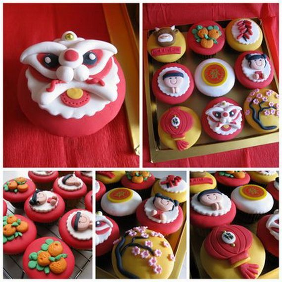Chinese New Year Cupcakes for the Holiday | Fun and Easy ...