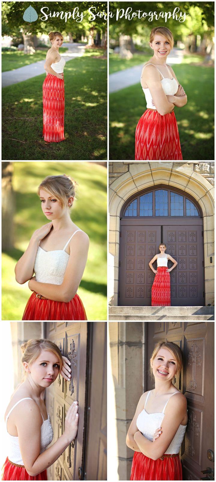 Senior Portrait Photos & Poses for Girls - Outdoor Photo Shoot - Billings, Montana High School Senior Portrait Photographer