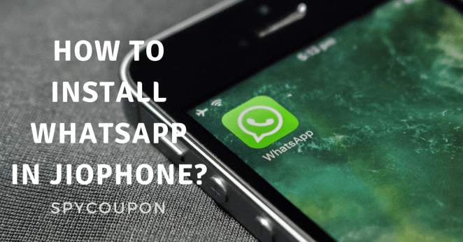 How to Download & Install Whatsapp in Jio Phone 1500