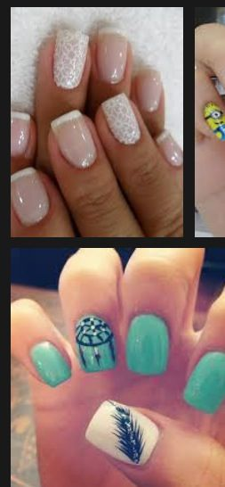 Two cute mani ideas