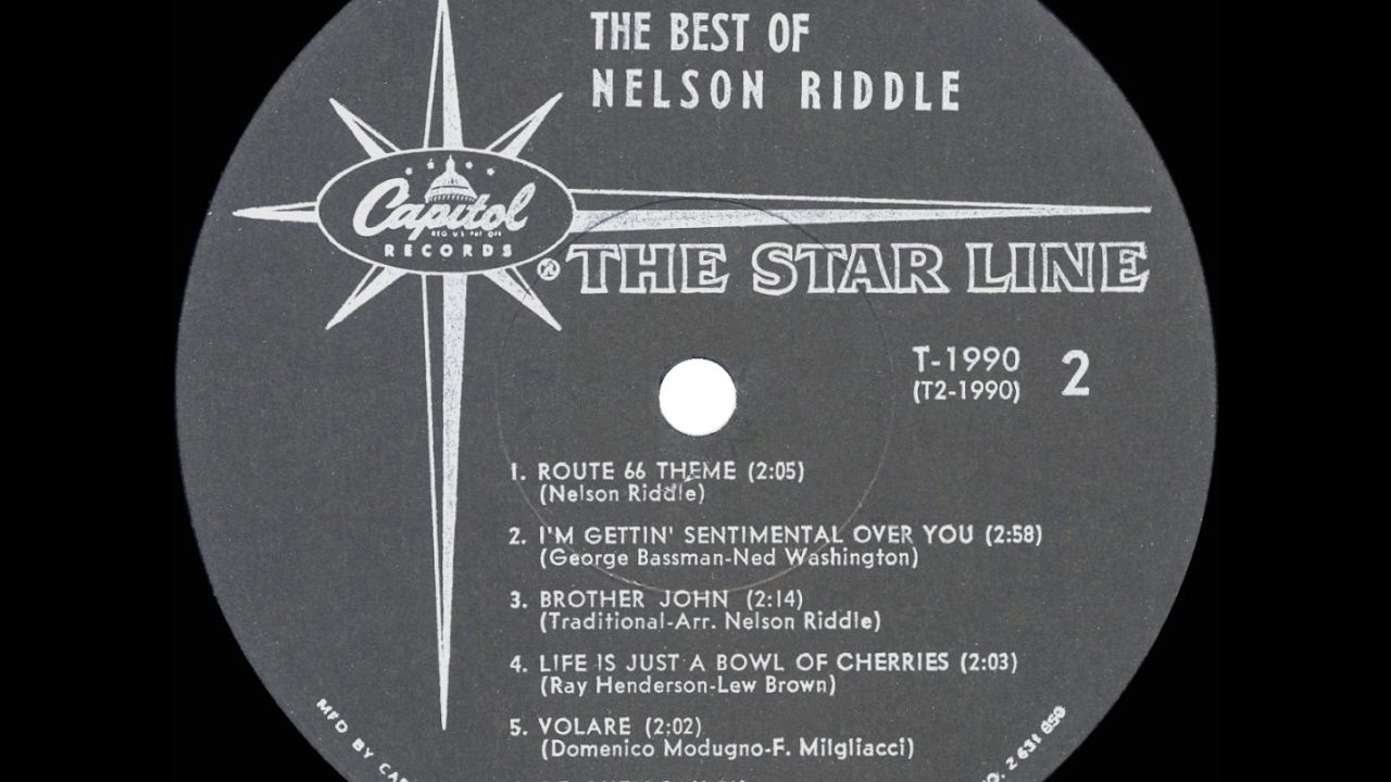 1958 Nelson Riddle I'm Getting Sentimental Over You