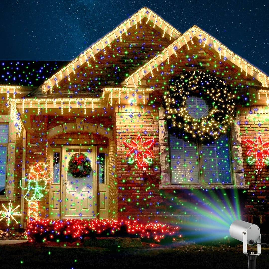 Starry Laser Lights Projection Christmas Lights Http Amzn To 2ioeysx Laser Christmas Lights Best Christmas Lights Christmas Light Projector