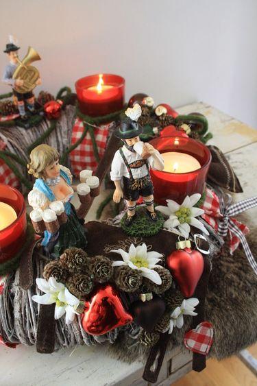 bavarian adventskranz adventskranz adventsgesteck. Black Bedroom Furniture Sets. Home Design Ideas