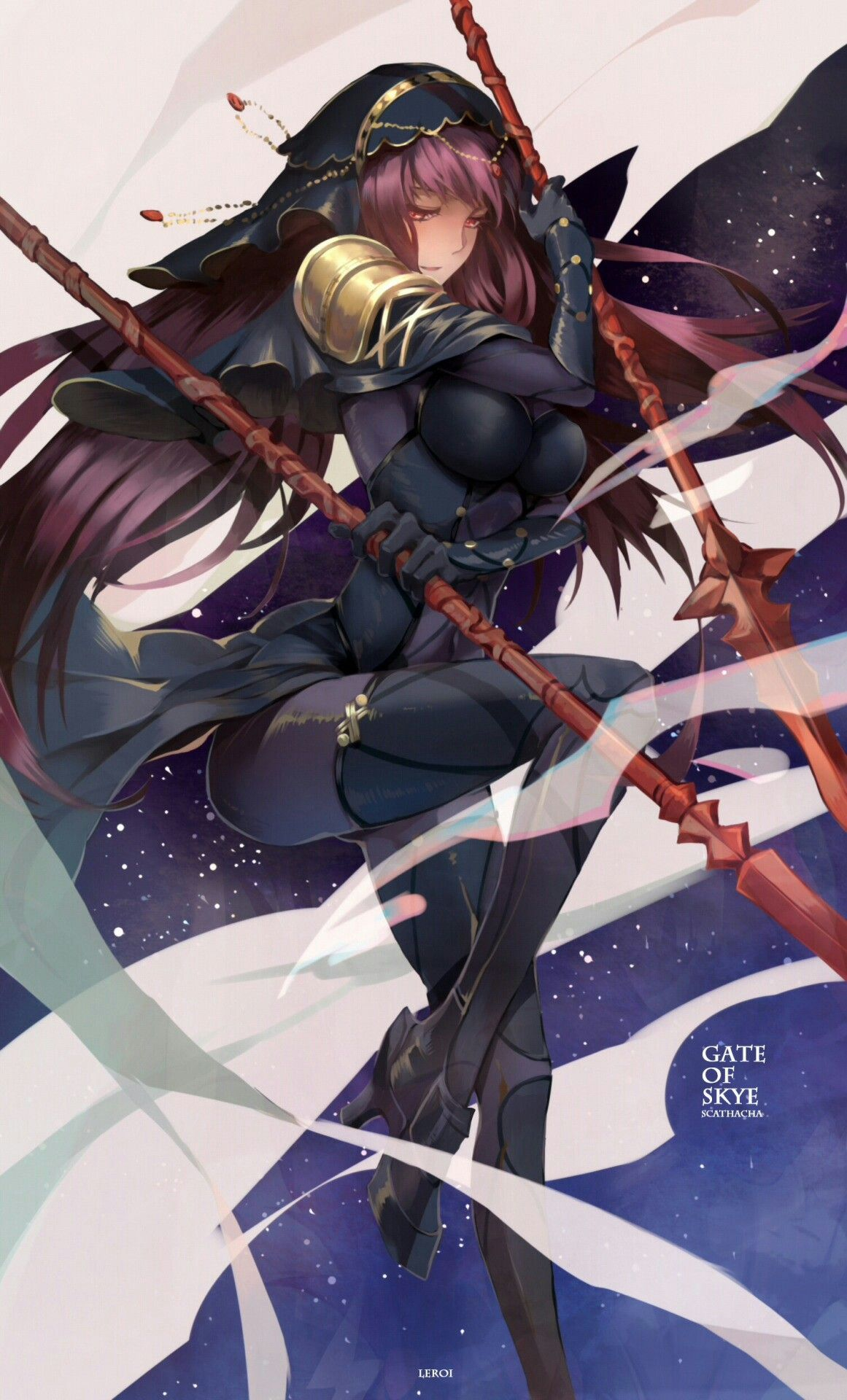 Fgo Lancer Scathach Scathach Fate Anime Fate Grand Order Lancer