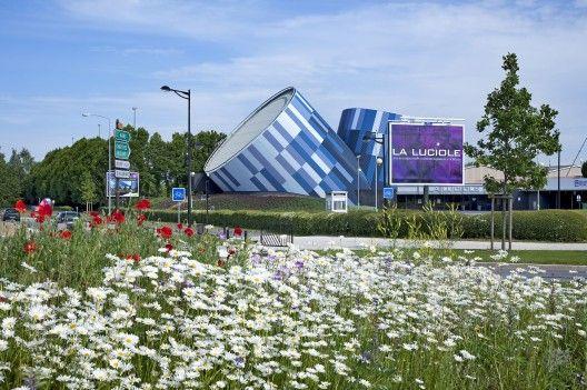 La Luciole Concert Hall by Moussafir Architectes Associés (Alençon, France)