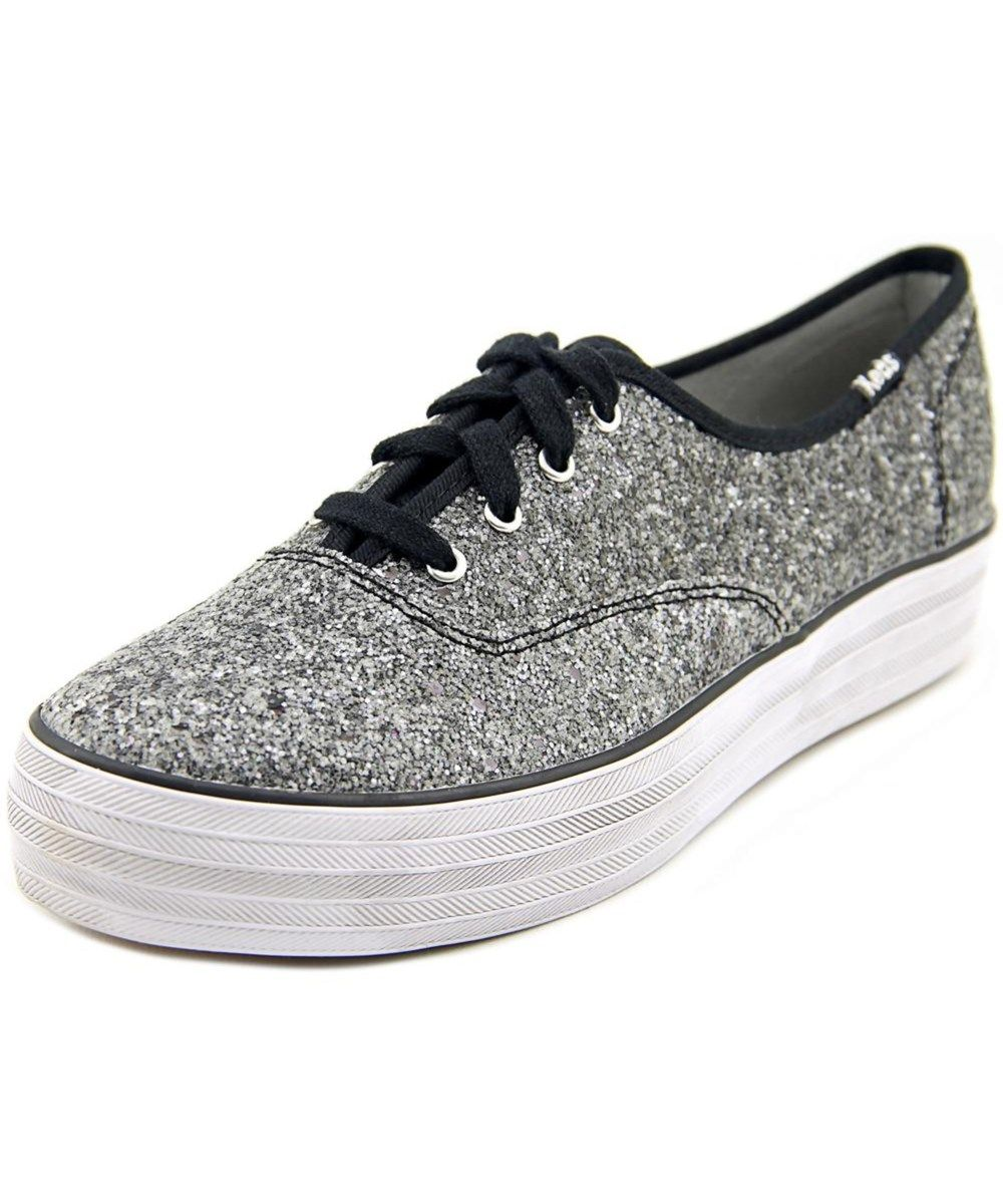 89c3c2893b282 KEDS Keds Champion Triple Glitter Women Round Toe Synthetic Black Sneakers .   keds  shoes  sneakers