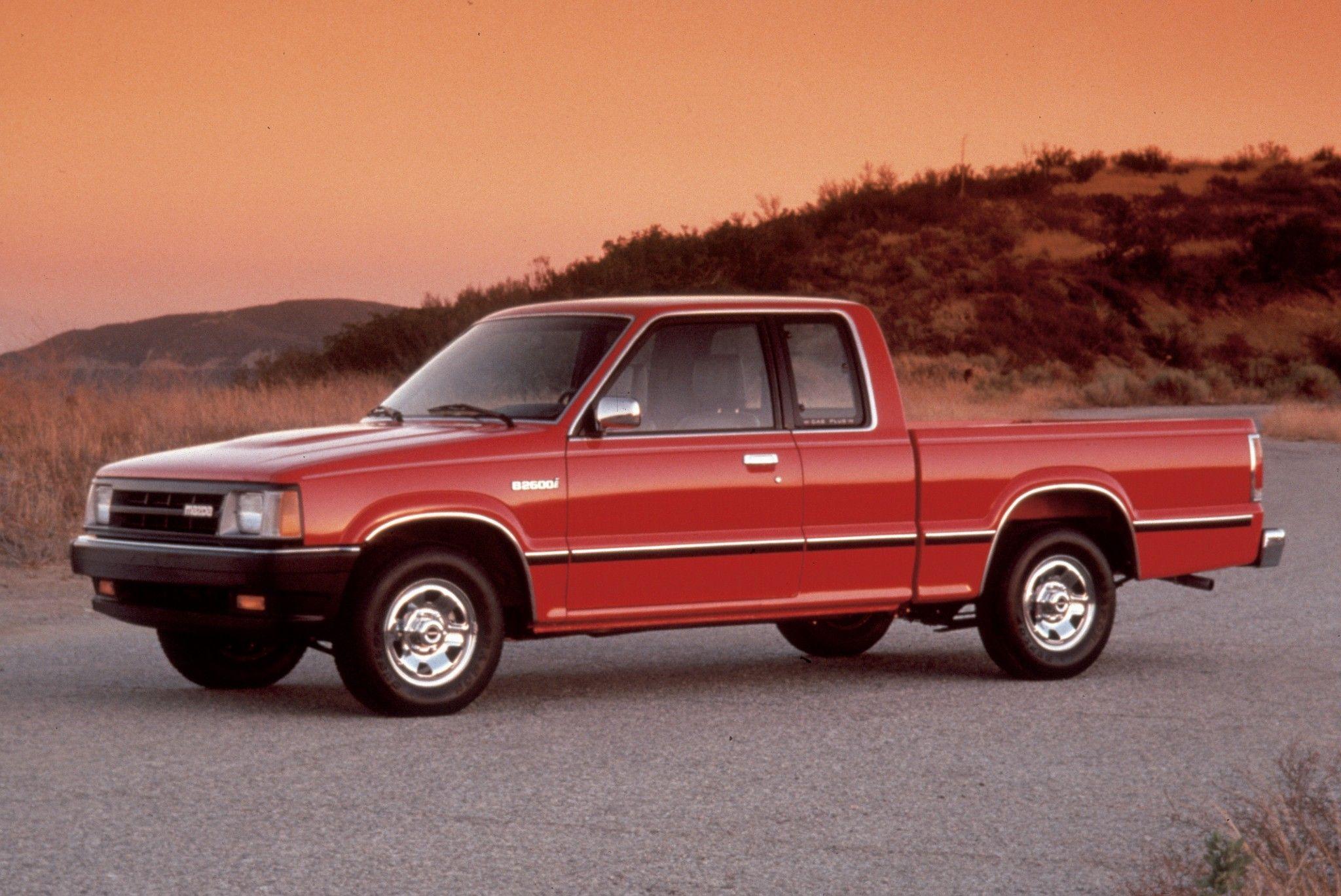 Mazda B2600 1985 98 Mazda Regular Cab Extended Cab