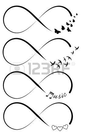 Infinity Symbols Tats Pinterest Tattoos Tattoo
