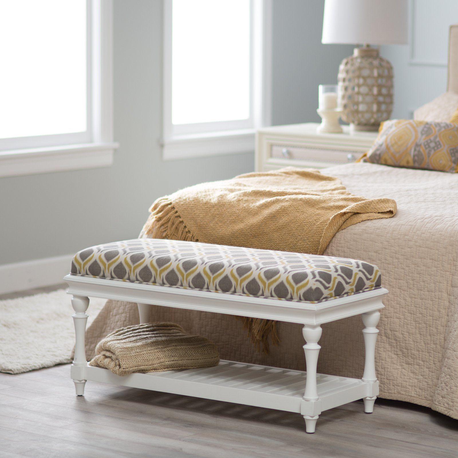Small Bedroom Benches In 2020 Bedroom Bench Stylish Bedroom Bedroom Design Trends