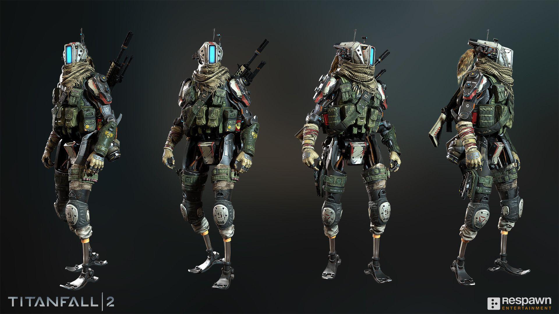 Pilot character for Titanfall 2 Art Director: Joel Emslie ...