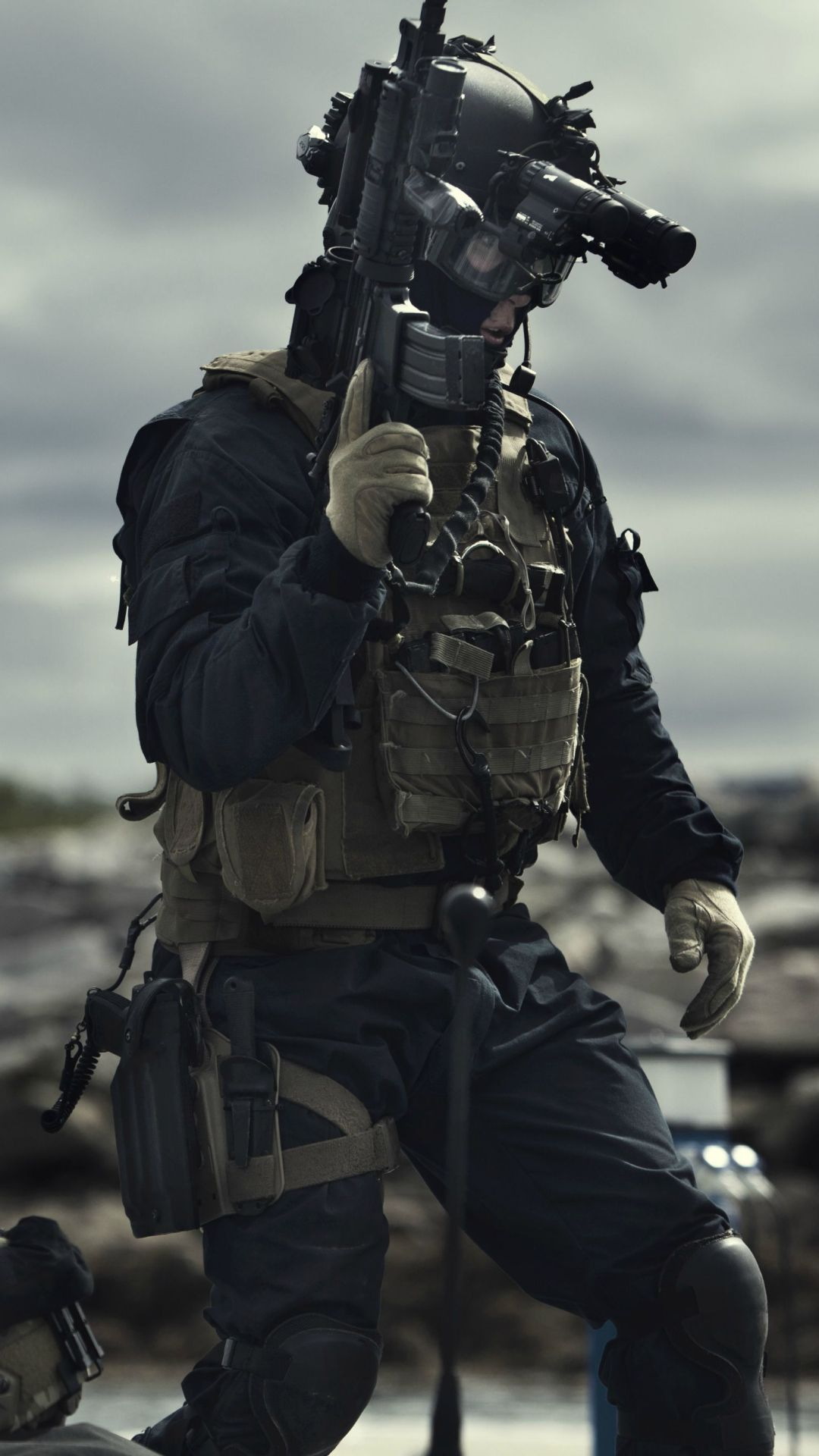 Military / Soldier (1080x1920) Mobile Wallpaper (With