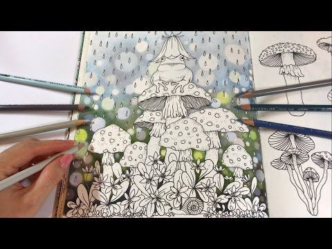 Rainy Day Part 1 Bokeh Background Coloring Daydreams Coloring Book Youtube Coloring Books Colored Pencil Coloring Book Coloring Book Art