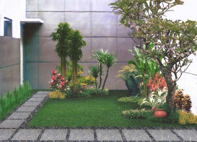 Extreme Simple Backyard Design Ideas Lansekap Taman Taman Kecil Taman Luar Ruangan