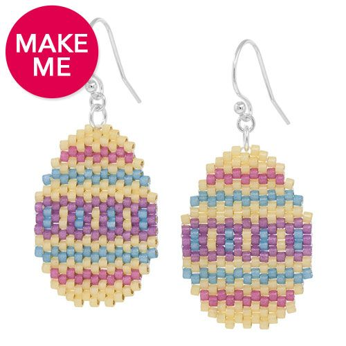 Hunting for Easter Eggs Earrings Inspiration Project