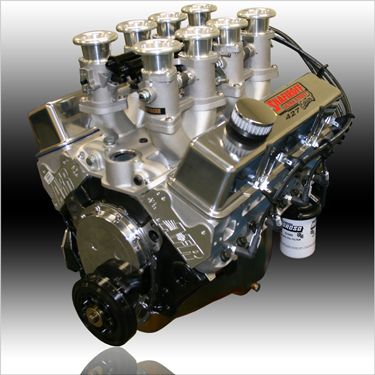 427 Small Block Chevy Inglese EFI Pump Gas Engine | Engine