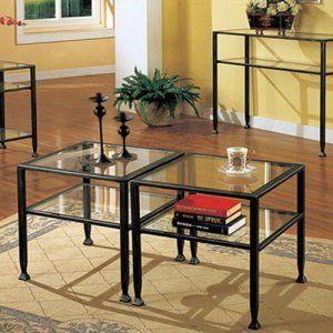 Best Southern Enterprises Black Bunch Metal Coffee Table 400 x 300