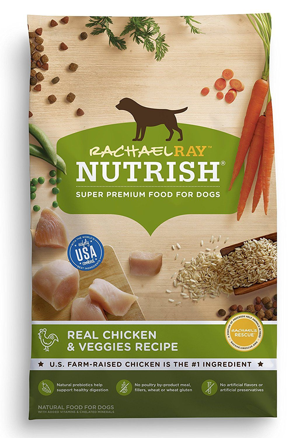 Amazon Com Rachael Ray Nutrish Natural Dry Dog Food Real Chicken