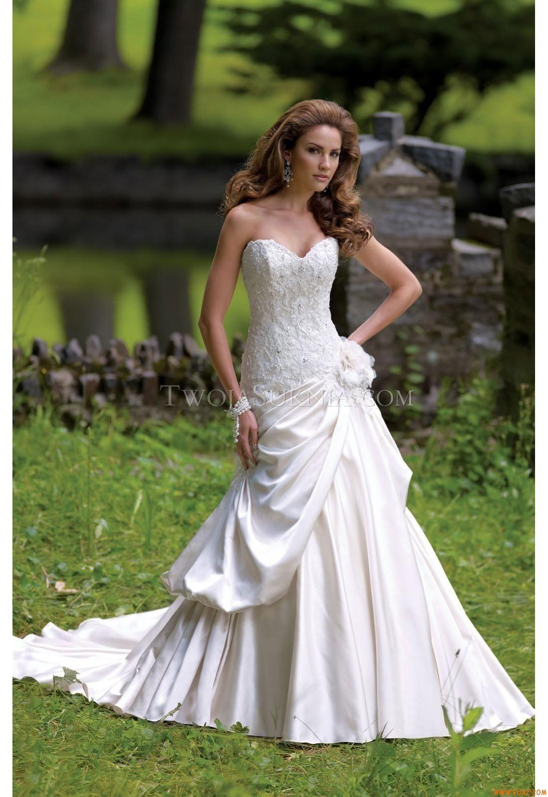 Elegant Sweetheart Mermaid Court Train Wedding Dresses China Mon Cheri 113225 - Pandora David Tutera