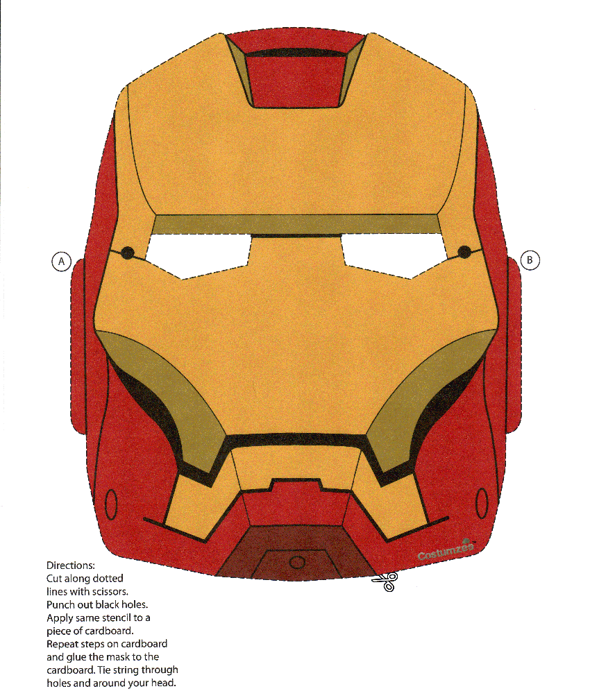 Uncategorized Iron Man Print Out iron man mask print ironman kiddos pinterest masking mask
