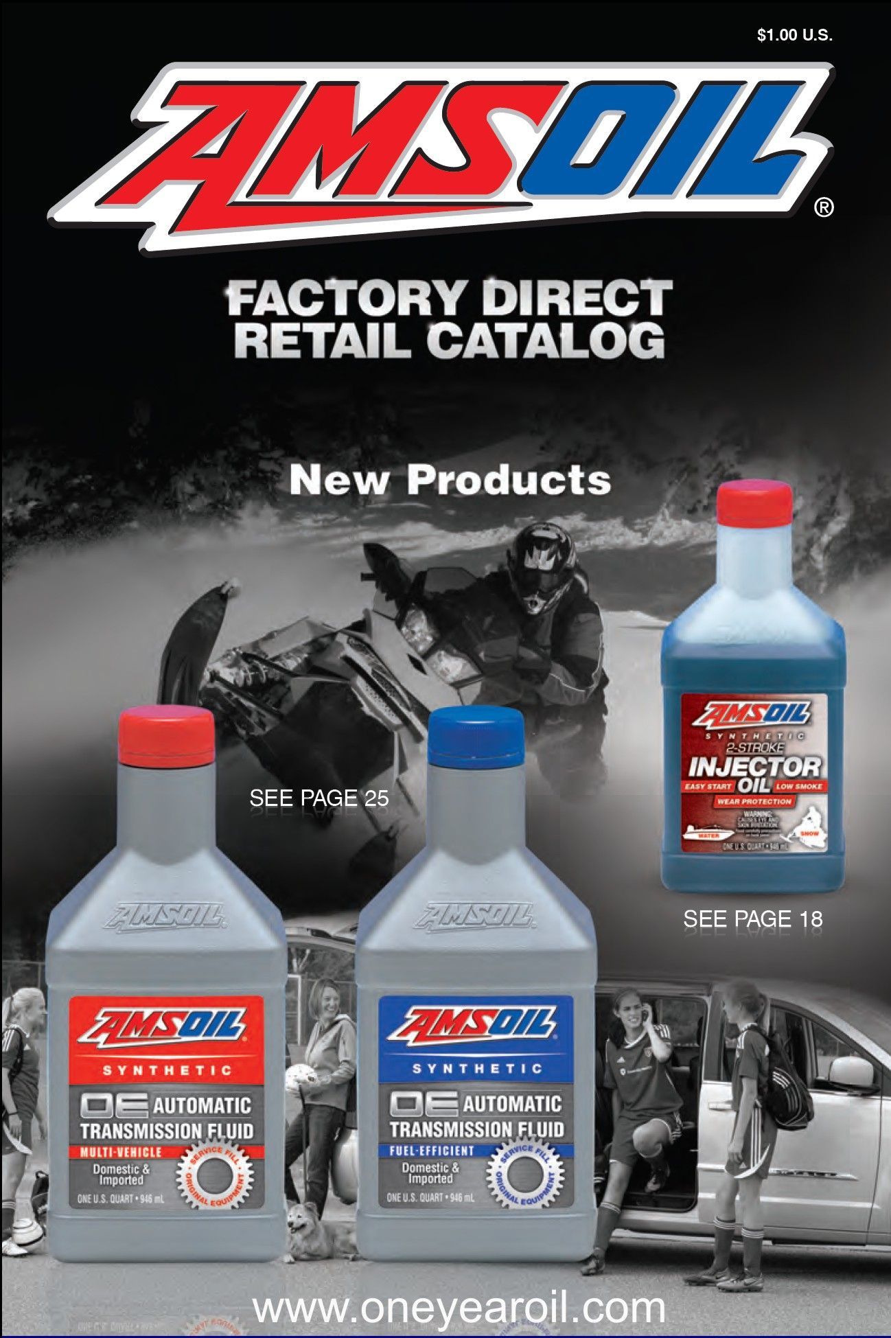 Amsoil Retail Catalog Free Synthetic Oil 25 000 mile or 1