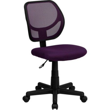 Mesh Computer Chair, Multiple Colors, Purple