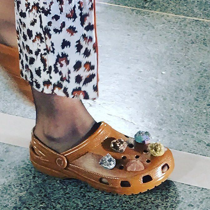 095a0bed34f5cb Crocs on the Runway! The Ugly-Pretty Shoe Just Made Its London Fashion Week…
