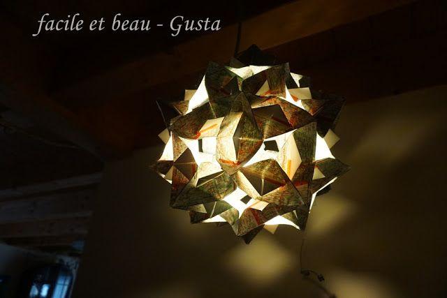 Facile Et Beau Gusta Die Lampe Hangt Lampen Lampe Schneeglockchen
