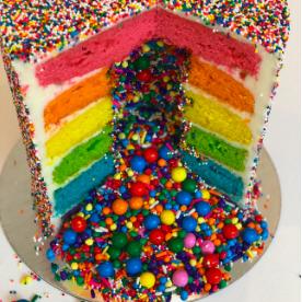 Photo of Explosion cake –  #rainbowcake  – #Cake #explosion #PinataKuchenBirthday #Pinata…
