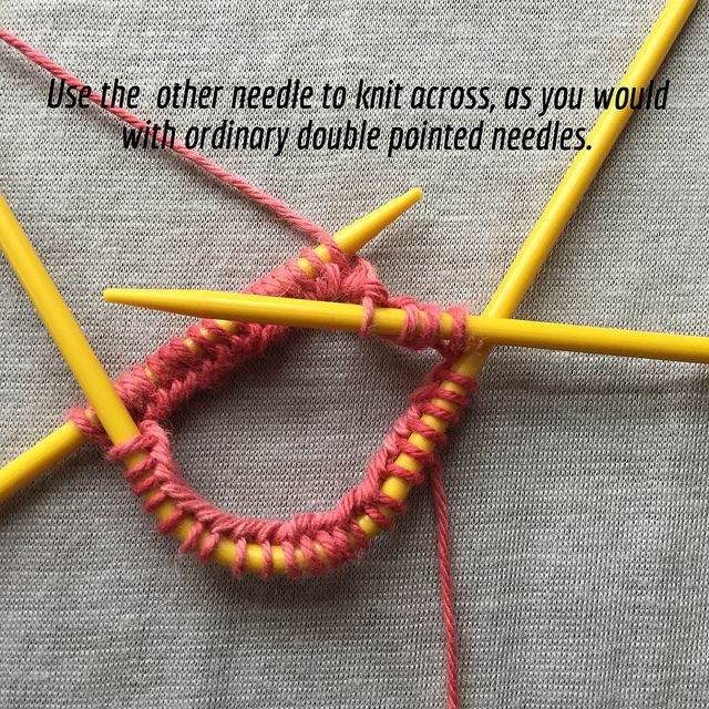 Knitting With Neko V Shaped Double Pointed Sock Needles Crafts