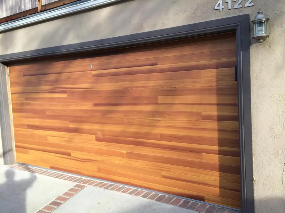 Cleo Horizontal Grooves And Texture Steel Garage Door Modern Design Garage Door Design Garage Doors Sectional Garage Doors