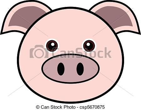pig face clipart clipart panda free clipart images pigs rh pinterest com cartoon pig face clip art pig face clip art black and white