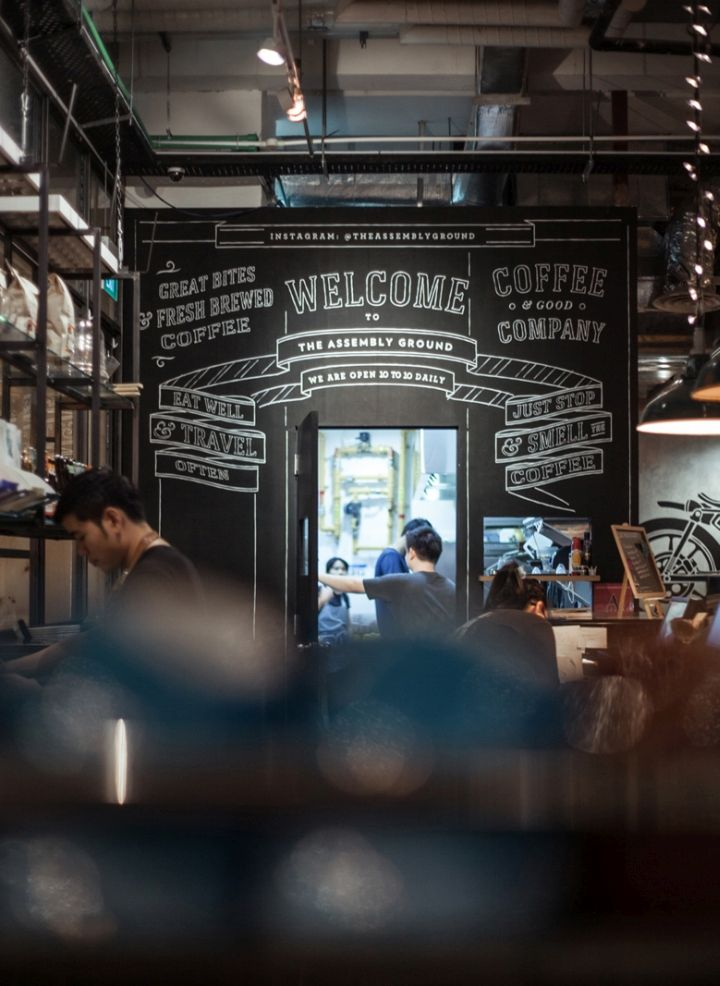 The Assembly Store And The Assembly Ground Cafe By Bravo Company Singapore Retail Design Blog Grind Cafe Bravo Company Retail Design Blog