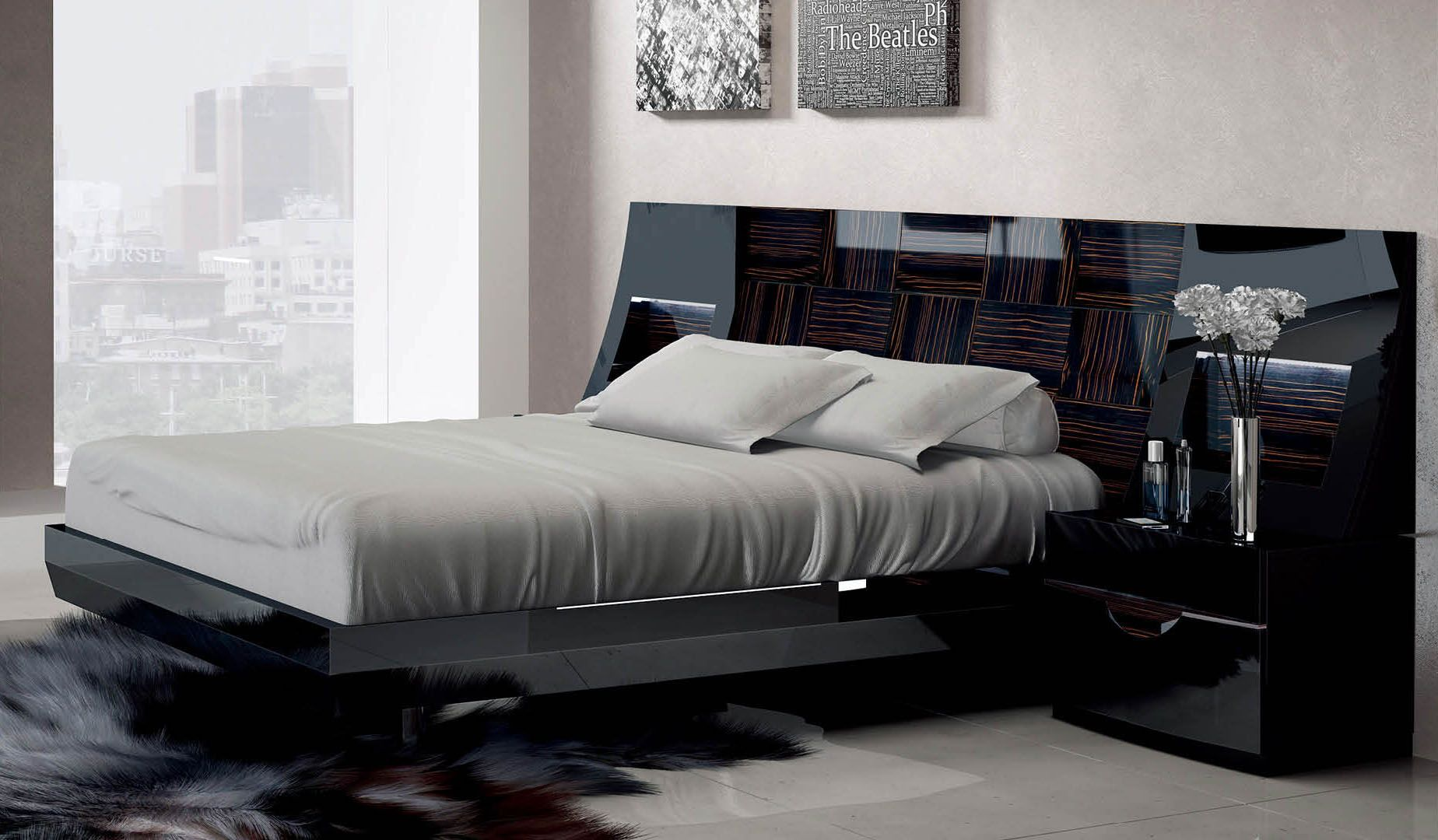 Highclass Wood Elite Platform Bed Luxurious bedrooms