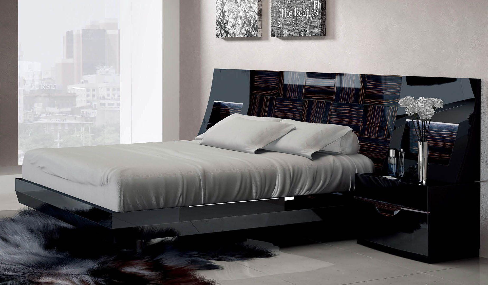 High Class Wood Elite Platform Bed Luxurious Bedrooms Remodel