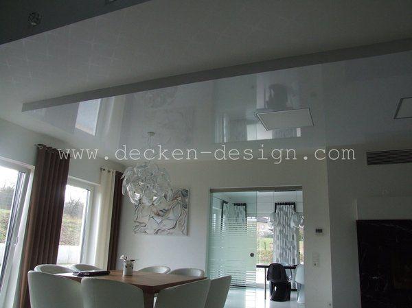 Spanndecke im Essbereich Decken Design Pinterest - kuche wohnzimmer offen modern