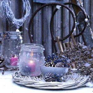 wundersch ne weihnachtliche deko f r draussen noch mehr. Black Bedroom Furniture Sets. Home Design Ideas