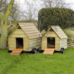 The stroller duck house waterfowl houses poultry for Duck and goose houses