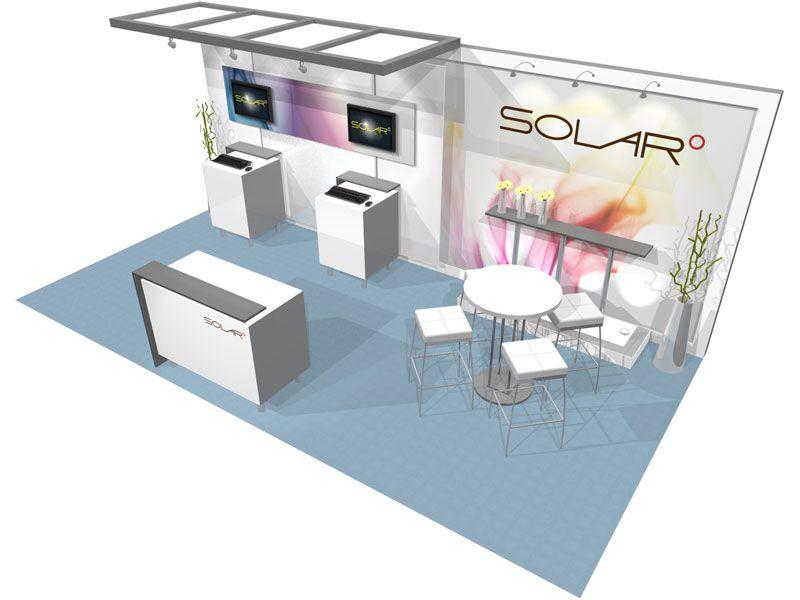 Booth Design 10x20 Trade Show
