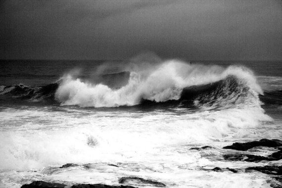 Black and white art seascape photography by hockmanphotography 45 00