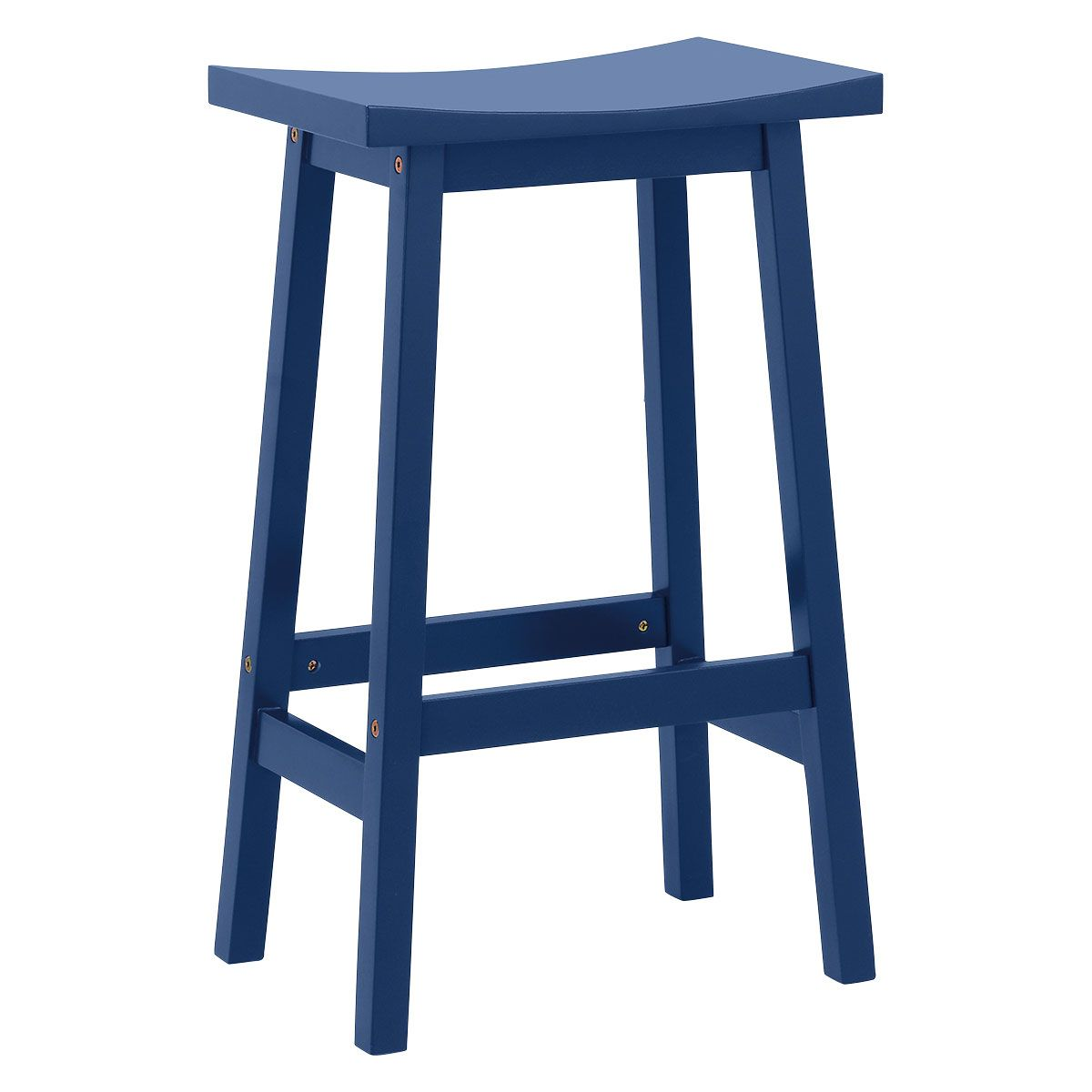 Tuck Navy Blue Painted Bar Stool H67cm In 2020 Blue Bar Stools Painted Bar Stools Bar Stools